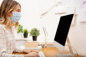 1280 Working from home sick mask shutterstock 1661543869 275x183