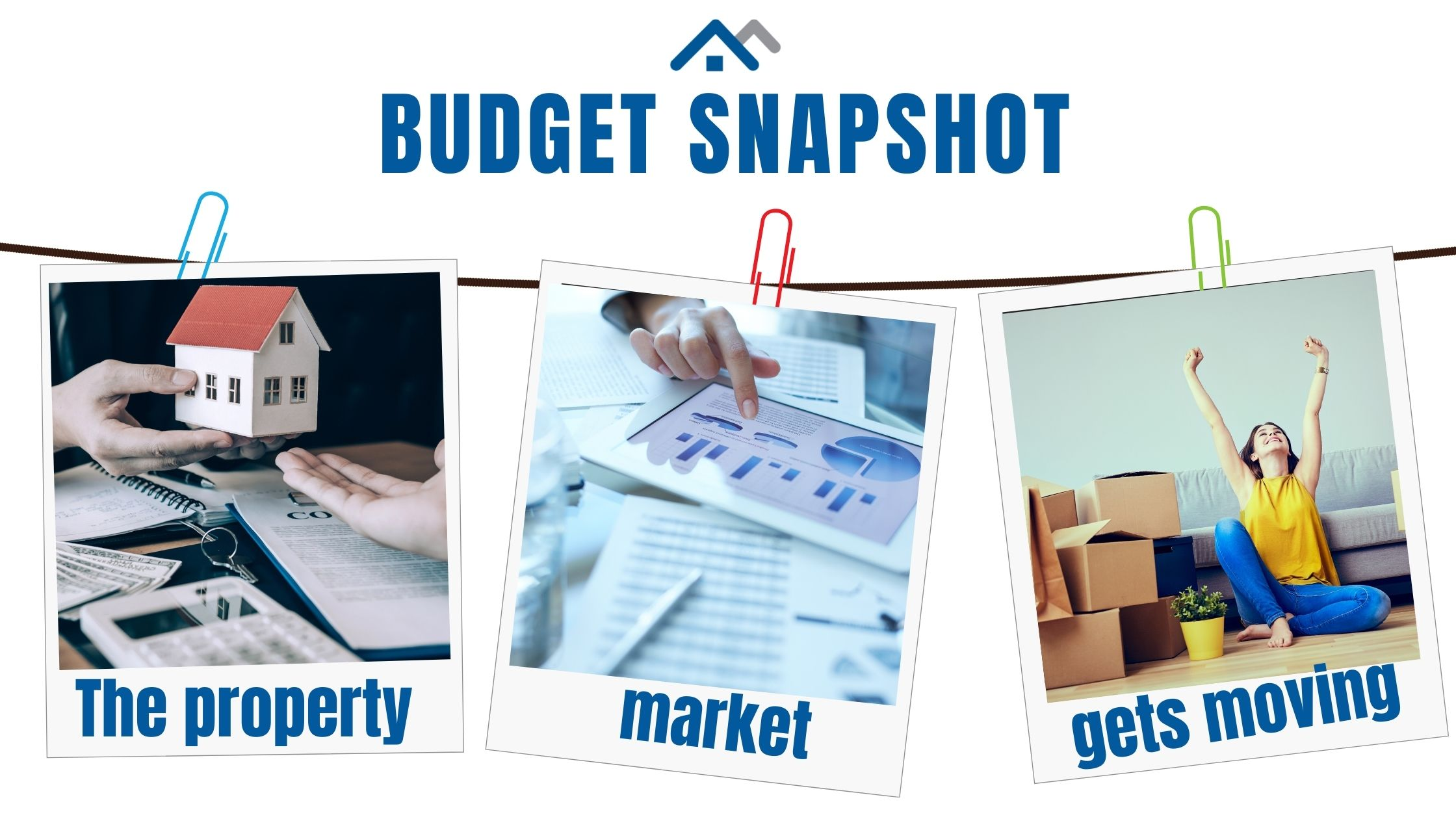 Budget Snapshot, the property market gets moving